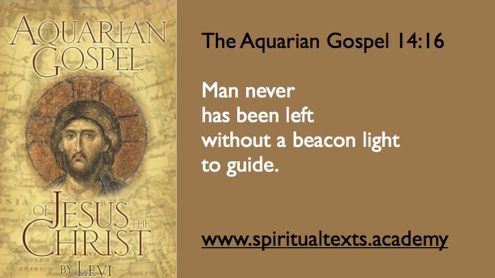Aquarian Gospel 14
