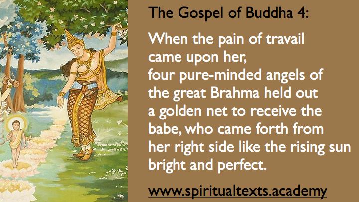 Buddha Birth Gospel of Buddha