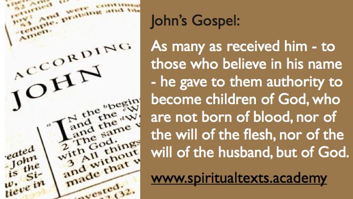 Johns Gospel 1