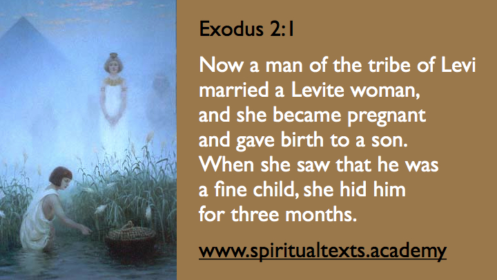 Moses Birth Nile Egypt Exodus